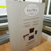 spider calsic,  print autocolant caserat pe placa pvc, montaj rapid, model drept, curb, 3×3,
