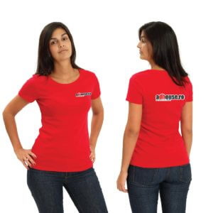 tricouri personalizate , toate culorile , personalziare DTG, personalizare direct pe tesatura, tricouri pentru staff