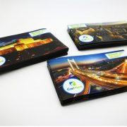magnet personalizat, print digital cu spate magnetic