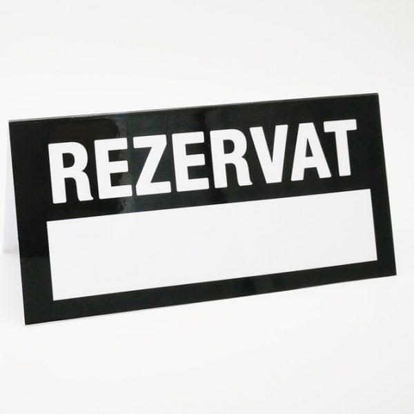 semne-rezervat cartonate personalizat cu logo pentru baruri si restaurante
